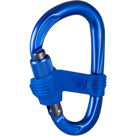 Mammut Smart HMS Moschettone Screw Gate blu